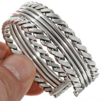 Twist Wire Silver Bracelet 27786