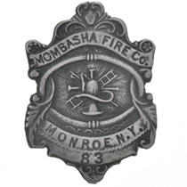 Mombasha Fire Company Silver Badge 29191