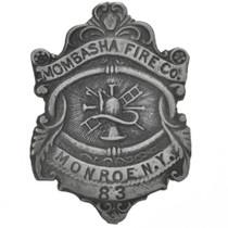 Mombasha Fire Company Silver Badge 29191