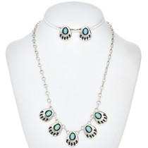 Turquoise Bear Paw Necklace Set26768