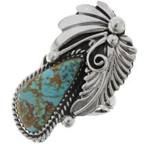 Navajo Turquoise Ladies Ring 27131