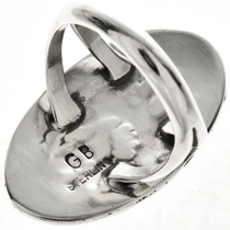 Overlaid Silver Ladies Southwest Ring 28907