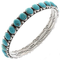 Southwest Turquoise Bangle Bracelet 25950