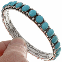 Ladies Sterling Bangle Bracelet 25950