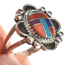 Inlaid Turquoise Gemstone Ring 28687
