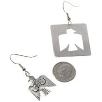 Peyote Bird Sterling Earrings 14459