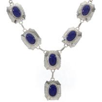 Lapis Silver Necklace 27778