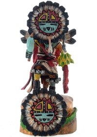 Sunface Kachina Doll 14839