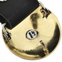 Navajo Made Gold Concho Belt 29045