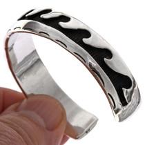 Overlaid Silver Navajo Bracelet 25488