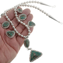 Green Turquoise Y Necklace 26817