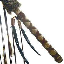 Buckskin Beaded Spear 26907