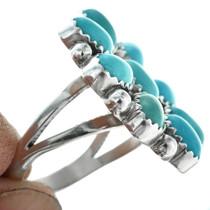 Navajo Silver Cluster Design Ring 27783