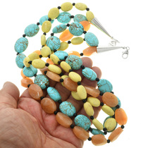 Turquoise Aventurine Southwest Necklace 22743