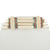 Navajo Indian Bone Choker 26137