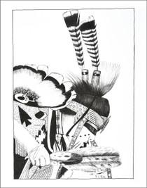 Native American Powwow Dancer Print 21115