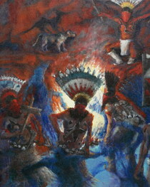 The Gahn Spirit Dancer Painting 16611