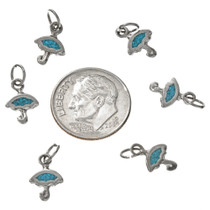 Southwest Turquoise Umbrella Charm 17440