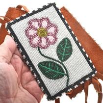 Seed Beaded Indian Hair Tie 30345