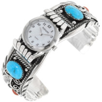 Turquoise Sterling Silver Cuff Bracelet 24429