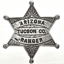 Arizona Tucson County Ranger Badge 29006