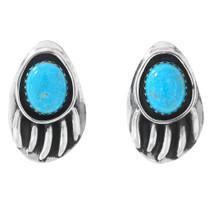Navajo Turquoise Stud Earrings 27345