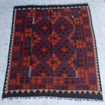 Southwest Pattern Wool Rug 26844