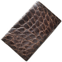 Genuine Alligator Business Card Holder 29047