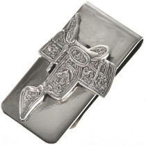 Western Saddle Money Clip 28836