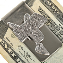 Traditional Western Money Clip 28836