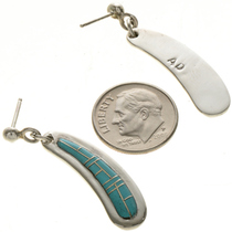 Sterling Southwest Post Dangle Earrings 29377