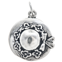 Sterling Silver Hat Charm 35418