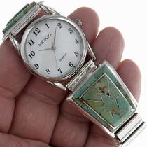 Zuni Turquoise Watch 24485