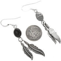 Traditional Feather Design Earrings 29405