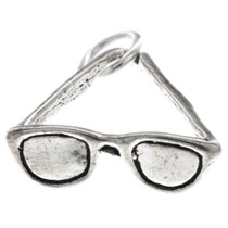 Sterling Silver Sunglasses Charm 35417