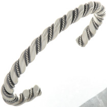 Heavy Gauge Sterling Cuff Bracelet 27776