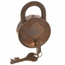 Old Western Padlock Keys 15372