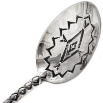 Native American  Silver Baby Spoon 29596