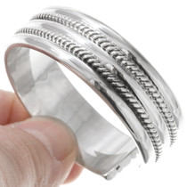 Hand Twisted Sterling  Cuff 20688