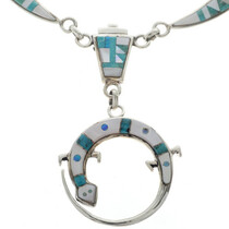 Inlaid Sterling Southwest Jewelry 27949