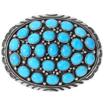 Sleeping Beauty Turquoise Belt Buckle 24413