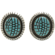 Sleeping Beauty Turquoise Earrings 29380