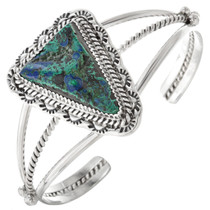 Native American Azurite Ladies Cuff 14935