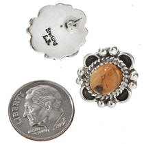 Silver Gemstone Post Earrings 29517