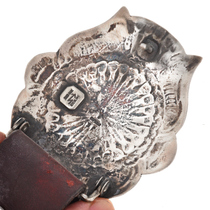 Hammered Silver Navajo Concho Belt 29609