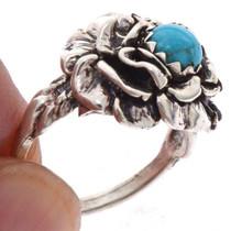 Navajo Silver Petal Ring 25542