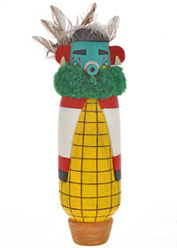 Vintage Hopi Corn Maiden Kachina Doll