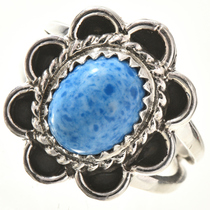 Denim Lapis Silver Ring 28680