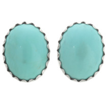 Turquoise Navajo Stud Earrings 28463