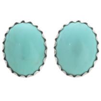 Turquoise Navajo Stud Earrings 28463
